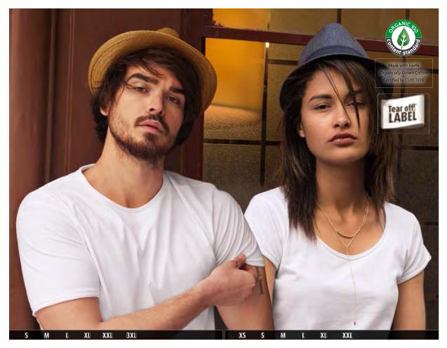 Рекламни тениски James Nicholson&Myrtle Beach 2020