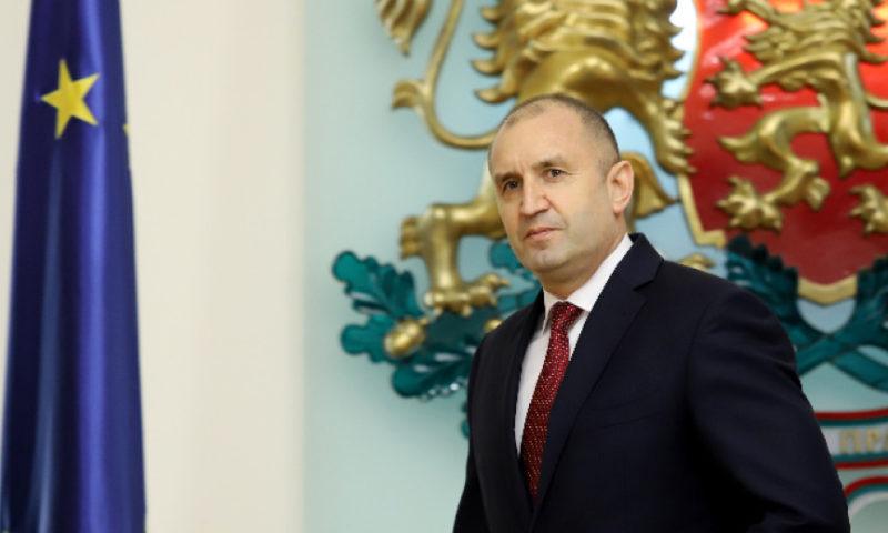 Президентът: Мобилизацията на българите е израз на националния консенсус антимафия