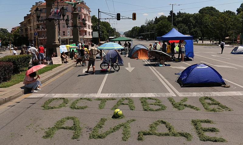 На живо: Протестът – ден 22: София под палаткова блокада