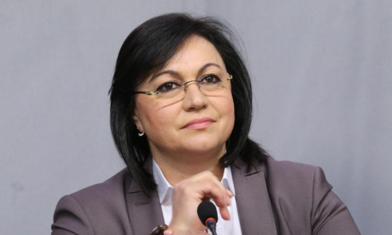 Нинова се извини на полицията, че е излязла сама от БНТ